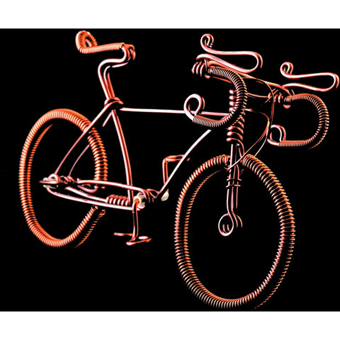 Copper Wire Bikes -10 PCS. (Road Bike)