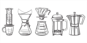 5 Ways to Brew Coffee at Home