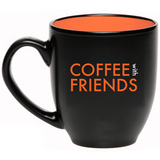 Elevate Coffee Mug (Black/Orange)