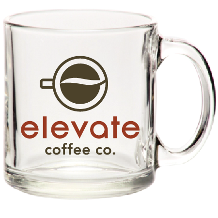 Clear Elevate Coffee Mug
