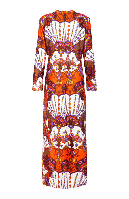 Fire Coral Dress