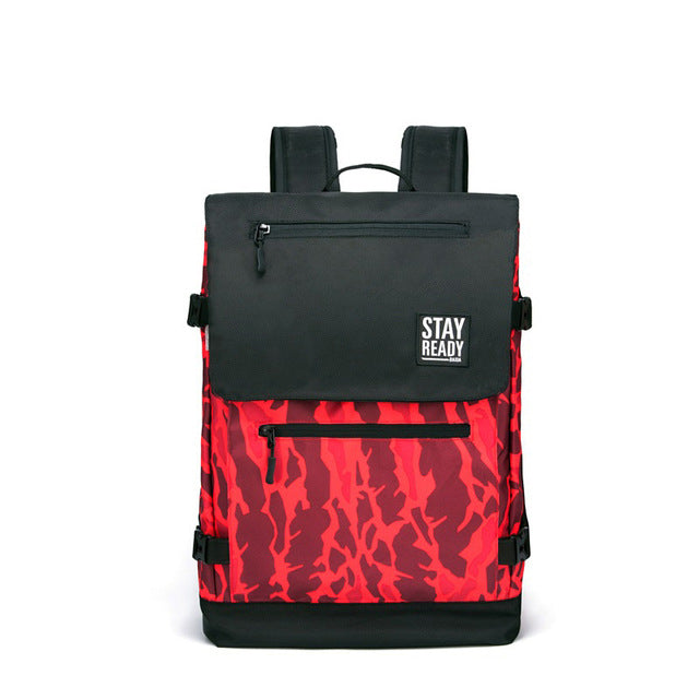 Cool Camouflage Backpack (Red)