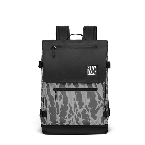 Cool Camouflage Backpack (Grey)