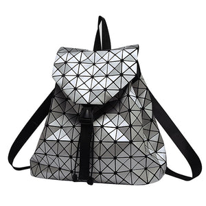 Holographic Backpack (Silver)