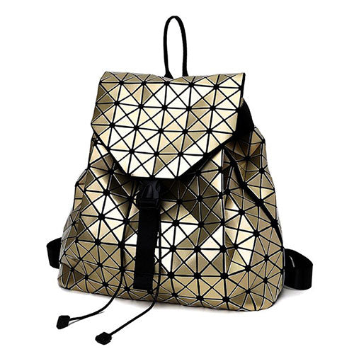 Holographic Backpack (Gold)