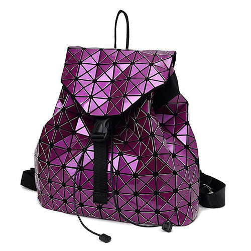 Holographic Backpack (Purple)