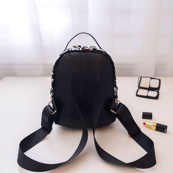 Mini Backpack Women (Black)