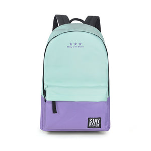 Fashion Backpack (cyan purple)