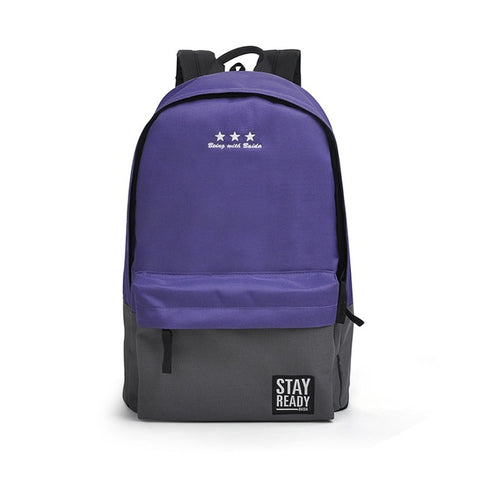 Fashion Backpack (purple grey)