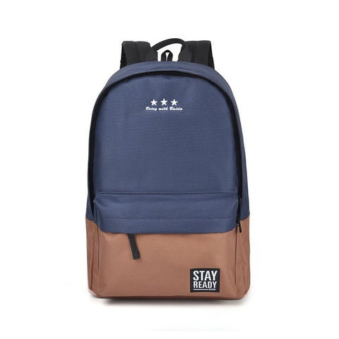 Fashion Backpack (blue coffee)