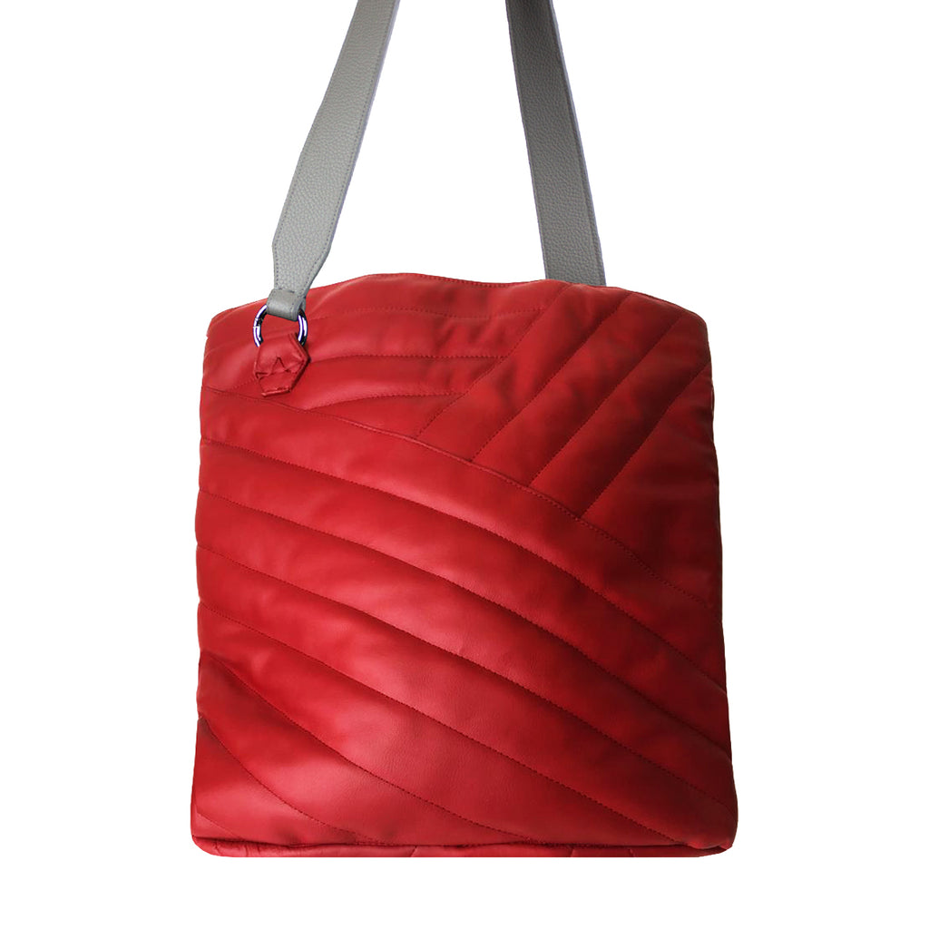 ORIGINAL Red Quilted Tote