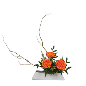 June Arrangement: Sunset Moribana