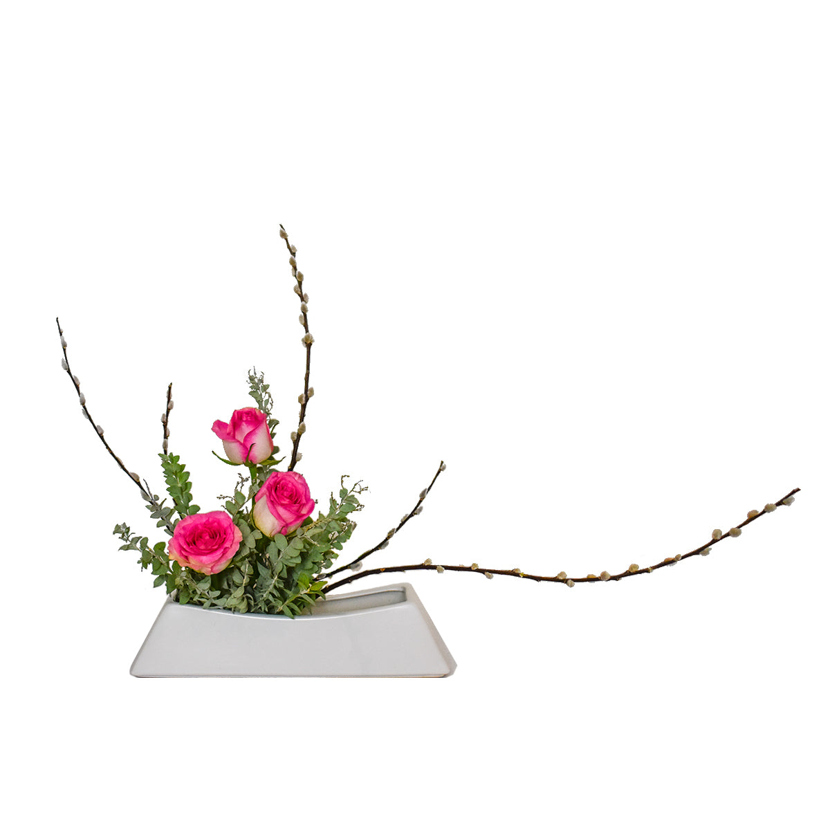 January Arrangement: New Year Moribana