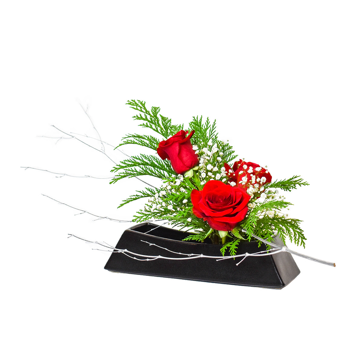 December Arrangement: Holiday Glitz