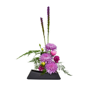 Spring Arrangement: Pretty in Purple