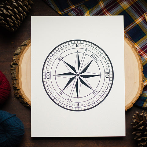 Behind the Idea:  Knitter's Compass