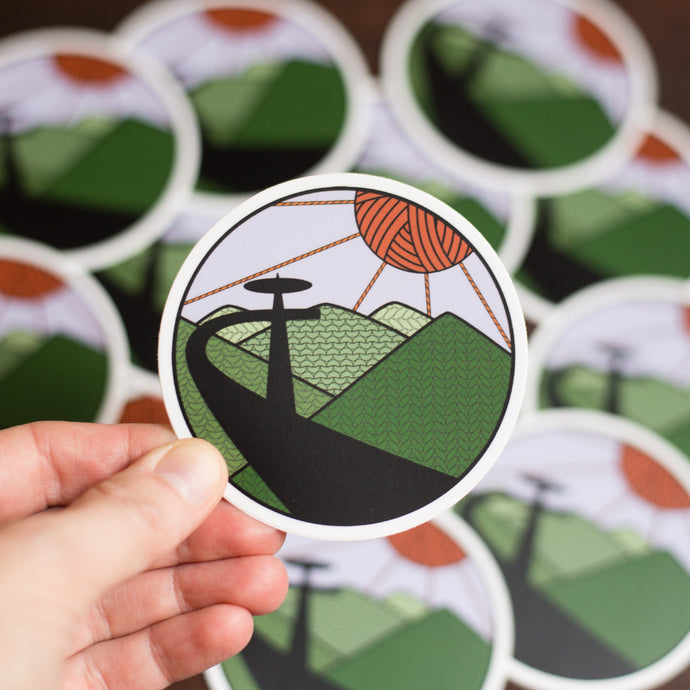 Behind the Idea:  National Park Knitting Stickers