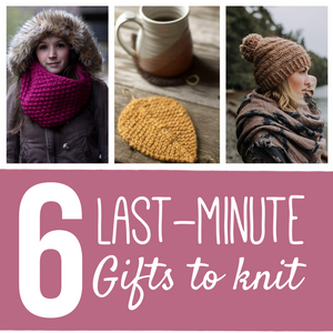 6 Last-Minute Gifts to Knit