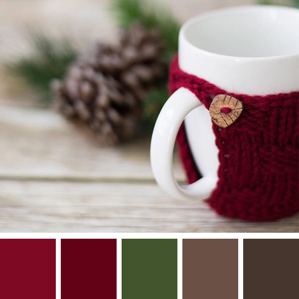 Color Scheme:  Christmas Cozy