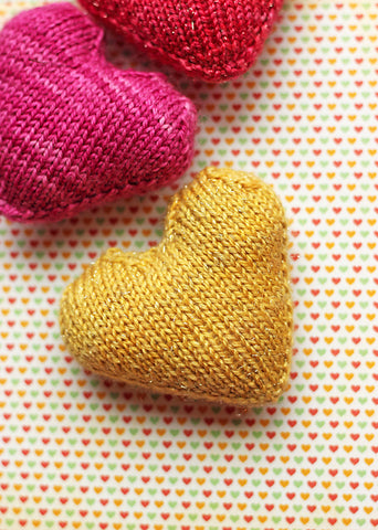 Quick knits for Valentine's Day