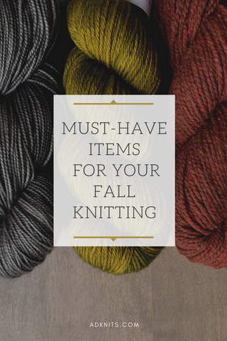 Fun Knitting items for your fall knitting projects