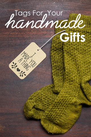 Tags for your handmade gifts