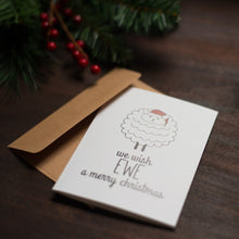 We Wish Ewe Holiday Card