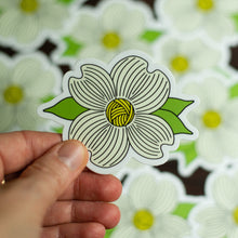 Dogwood Flower Knitting Sticker