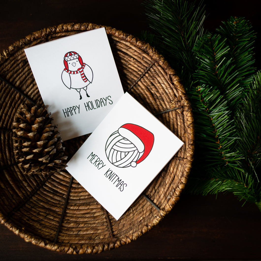 Freebie: Printable Holiday Cards
