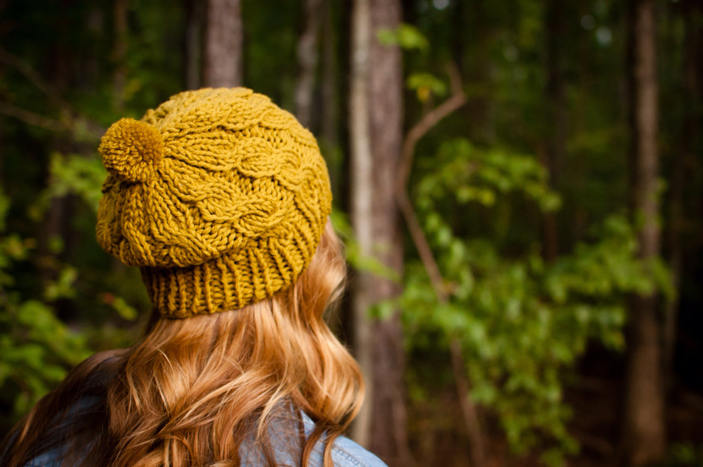 ff77800e0bf ... slouchy cable beanie knitting pattern