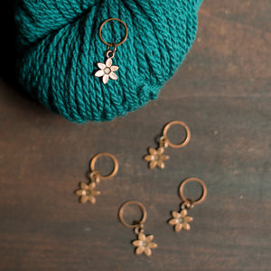 Flower Stitch Markers