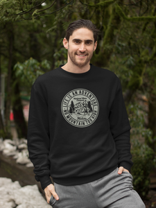 Adventure - Unisex Sweatshirt - Black