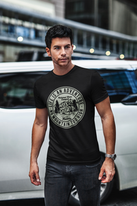 Adventure - Men's Half Sleeve T-Shirt - Black