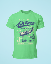 Air Force - Men's Half Sleeve T-Shirt - Kiwi Green