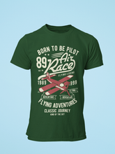 Air Race - Men's Half Sleeve T-Shirt - Green