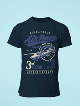 Air Force - Men's Half Sleeve T-Shirt - Navy Blue
