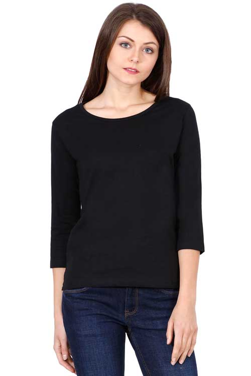 Plain - Women's T-Shirt - Black
