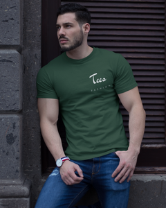 Tees Fashion - Men's Half Sleeve T-Shirt - Green