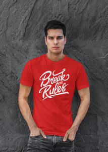 Rules - Men's Half Sleeve T-Shirt - Red