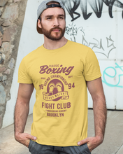 Classic Boxing - Men's Half Sleeve T-Shirt - Yellow