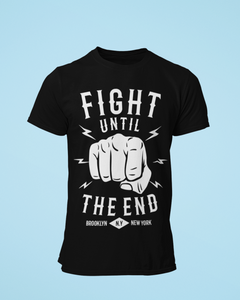 Fight The End - Men's Half Sleeve T-Shirt - Black
