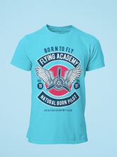 Flying Academy - Men's Half Sleeve T-Shirt - Blue