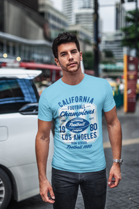 Champions - Men's Half Sleeve T-Shirt - Blue