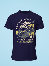 Grand Prix - Men's Half Sleeve T-Shirt - Ink Blue