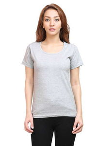Plain - Women's Half Sleeve T-Shirt - Grey