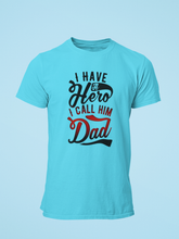 Hero - Men's Half Sleeve T-Shirt - Blue