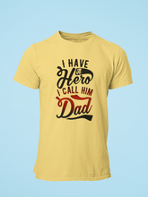 Hero - Men's Half Sleeve T-Shirt - Yellow