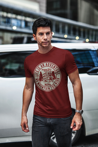Adventure - Men's Half Sleeve T-Shirt - Maroon