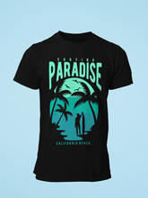 Paradise - Men's Half Sleeve T-Shirt - Black