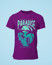 Paradise - Men's Half Sleeve T-Shirt - Purple